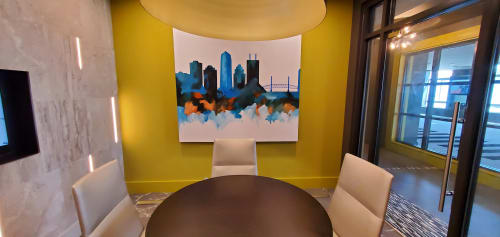 Paintings by Keith Doles seen at Vista Brooklyn, Jacksonville - Closing Room landscape painting