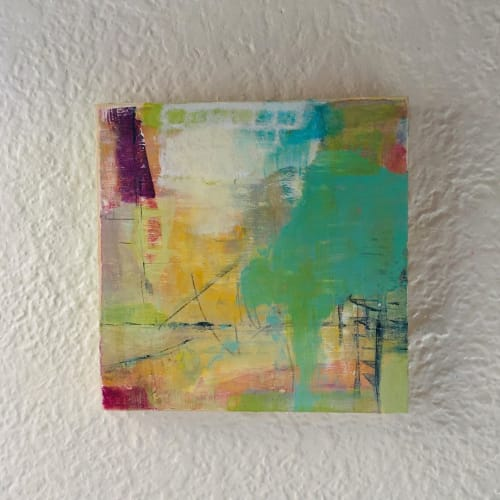 Paintings by Meg Ciccantelli seen at Milwaukee, Milwaukee - Little Green