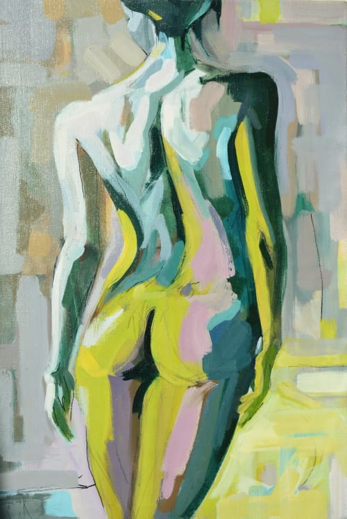 Paintings by Kim McAninch seen at Bahrain Island - FIGURE 5