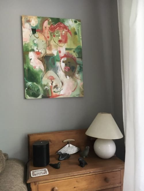 Paintings by Vikki Drummond seen at Private Residence, Edmonton - Time Lapse