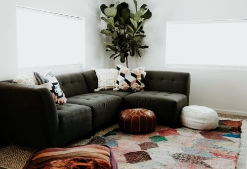 Couches & Sofas by Jonathan Louis seen at Terra LaRock's Home - Belaire Modular Sectional Sofa