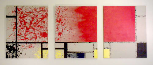 Paintings by Req. Art at Private Residence, San Francisco - Raising Sand