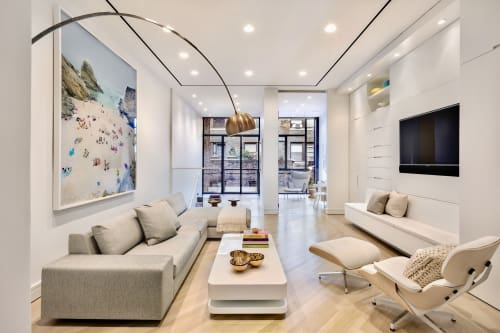 Interior Design by Michael Wood Interiors at Private Residence, New York - UWS Townhouse