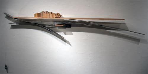 Sculptures by Craig Robb seen at Private Residence, Denver - Sonnets