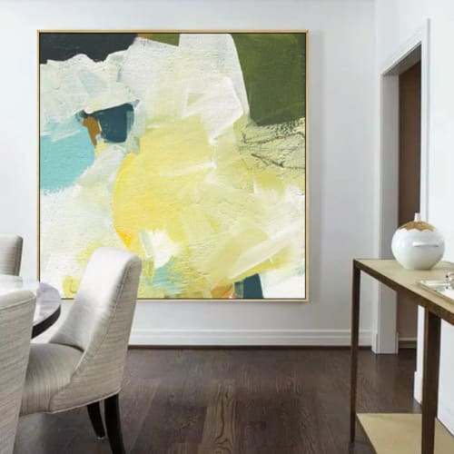 Paintings by Stephanie Laine Art seen at Private Residence, Gold Coast - Abstract Painting