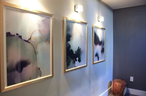Paintings by Marta Spendowska seen at Private Residence, Philadelphia - Abstract Paintings