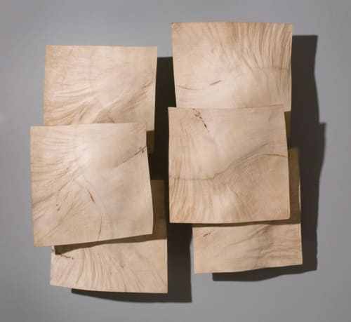 Sculptures by Christian Burchard seen at Private Residence, Ashland - Bleached Madrone Burl