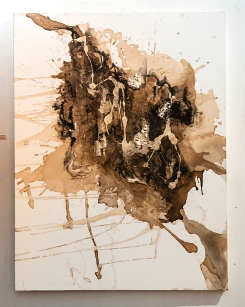 Paintings by Abena Motaboli seen at Chicago, Chicago - The Cataclysm in Yesterday