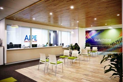 Interior Design by Strutt Studios seen at AIP Education & Migration, Sydney - Language School