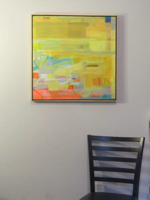 Paintings by Neal Novak seen at Private Residence, Baton Rouge - Horace