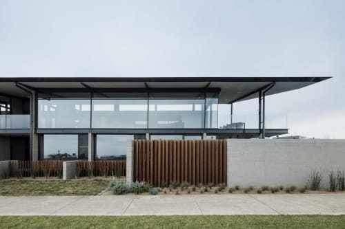 Architecture by Eldridge Anderson Architects seen at Private Residence, Torquay - Torquay House