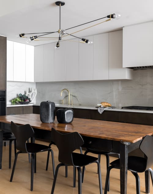 Interior Design by Michelle Dirkse at Private Residence, Seattle - Eclectic Escala Condominium