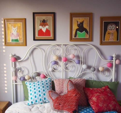 Art & Wall Decor by Jamie L. Luoto seen at Private Residence, Wielun - Home Sweet Home