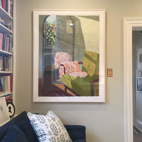 Paintings by Sophie Treppendahl seen at Private Residence, Chicago - Sophie Treppendahl Painting