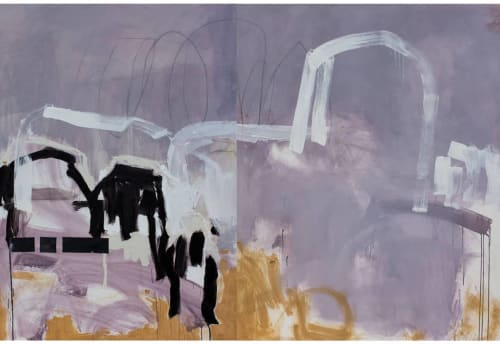 Paintings by Susan Washington Fine Art seen at Artist Studio NYC, New York - Breaking Glass