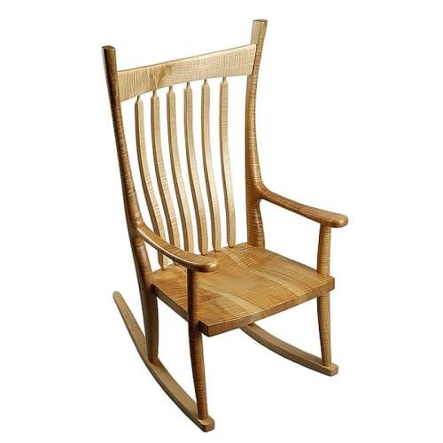 Chairs by Greg Aanes Furniture seen at Bellingham, Bellingham - Brendan Rocker