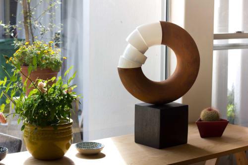Sculptures by Paul Stein Sculpture seen at Cape Town, Cape Town - Torus Study
