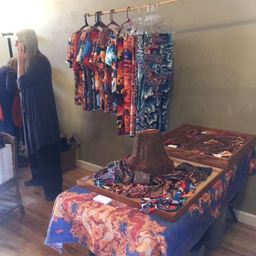 Apparel & Accessories by Beatnik Prints seen at Soul Tree Yoga, Lafayette - Topographic Clothing