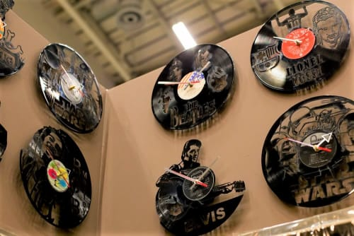 Art & Wall Decor by Uber Cool Design seen at CTICC (Cape Town International Convention Centre), Cape Town - Vinyl Clocks