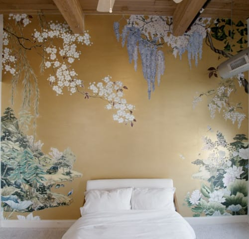 Murals by Anna Murphy seen at Private Residence, Chicago - Sweet Dreams