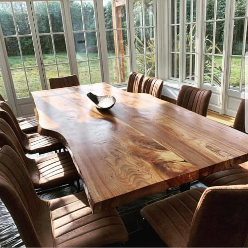 Tables by Handmade in Brighton seen at Private Residence, Southampton - English Elm Table