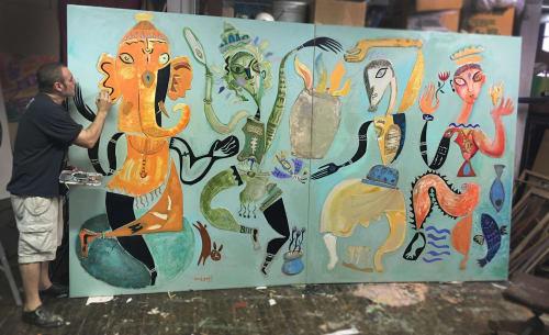 Megalis Studio - Murals and Art