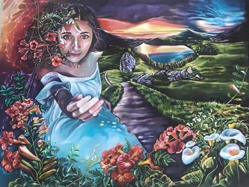Brook Ramsey's Art - Murals and Paintings