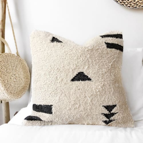 Pillows by Coastal Boho Studio seen at Holly | Calling All Creators - Arrow Pillow Cover