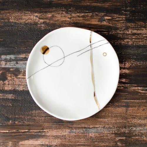 Nova Dessert Plate | Ceramic Plates by Boya Porcelain