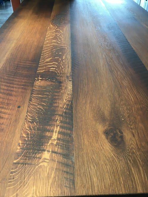 Tables by BURL MFG seen at Updox LLC, Dublin - Custom Table