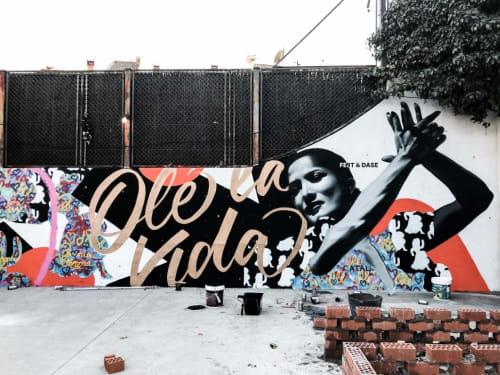 Street Murals by Dase - Marc Álvarez seen at Atresmedia Antena3, San Sebastián de los Reyes - Outdoor Mural