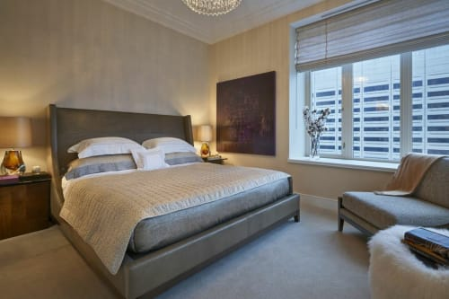 Beds & Accessories by Interior Crafts seen at The Ritz-Carlton Residences, Chicago, Chicago - Beds & Accessories