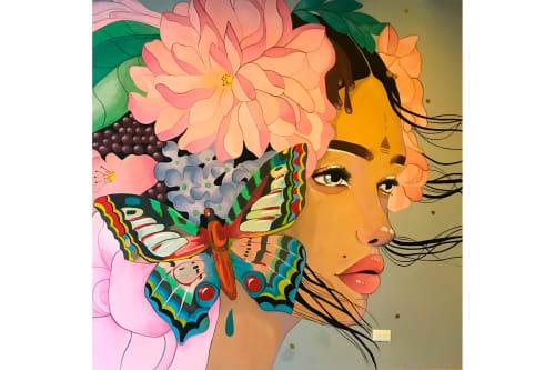 Murals by Vera Primavera seen at Selina Quito, Quito - Mural