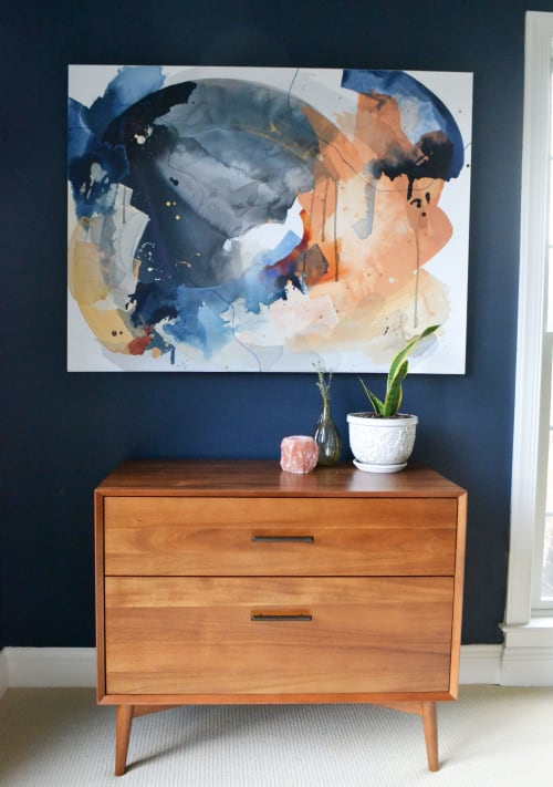 Paintings by Pamela J. Black seen at Private Residence, Lancaster - Commissioned Painting