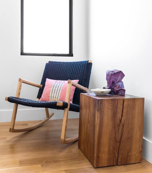 Chairs by TRIM seen at Private Residence, Boulder - West's Rocker