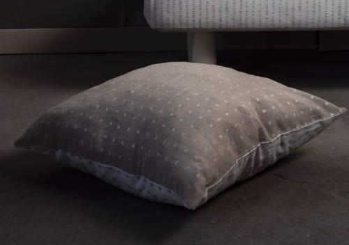 Ka linen cushion cover   Pillows by Vilenica Studio
