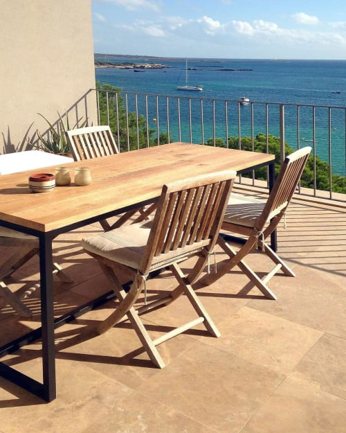 Anie Table By Bois Et Fer Seen At Majorca Wescover