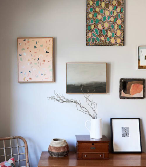 Paintings by Sarah Kelk seen at Private Residence, Melbourne - Sand I