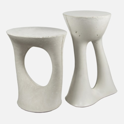 Tables by Souda seen at Private Residence, Sydney - Kreten Side Table Pair