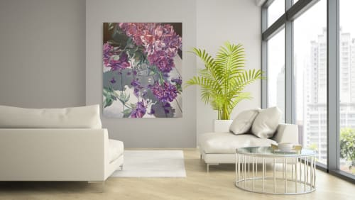 Paintings by Kimberley Cook Fine Art seen at Private Residence, Calgary - Original Oil Painting or Prints on Canvas or Fine Art Paper