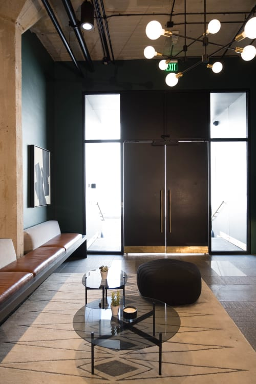 Interior Design by Omgivning seen at Residential Lofts, Los Angeles - Hollywood Lofts