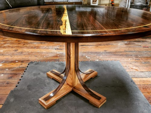 Tables by Ney Custom Tables : Design and Fabrication seen at Private Residence, Lexington - Custom Dining Table