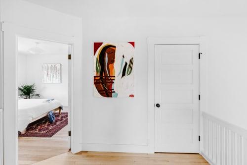 Paintings by Paula Gasparini-Santos seen at Private Residence, Denver - Native