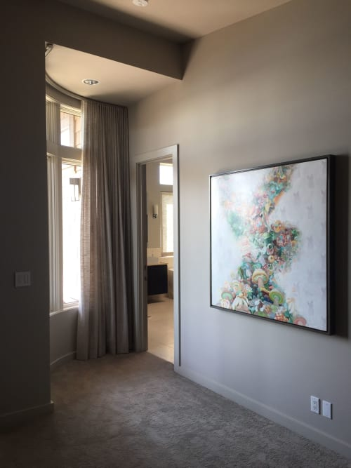 Paintings by Amy Spassov seen at Private Residence, Seattle - Bunny High