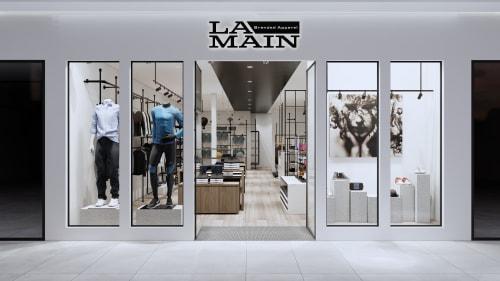 Interior Design by Studio Hiyaku seen at Casula Mall, Casula - La Main Apparel