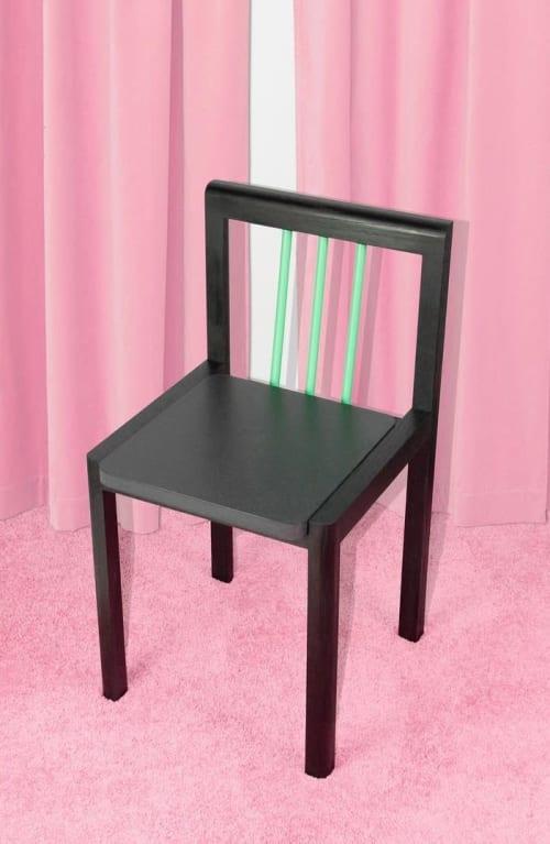 Chairs by Steven Bukowski seen at Bi-Rite Studio, Brooklyn - Piano Chair