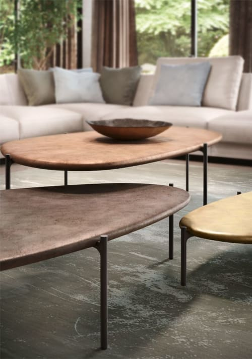 Tables by DAÏ SUGASAWA seen at Walter Knoll AG & Co. KG, Herrenberg - ISHINO Tables