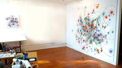 Paintings by Carter Hodgkin at New York, NY  Studio, New York - Works On Paper