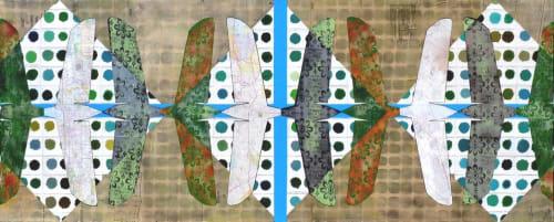 Paintings by Fausto Fernandez seen at Kimpton Hotel Palomar Phoenix, Phoenix - Green Dot Tailplane