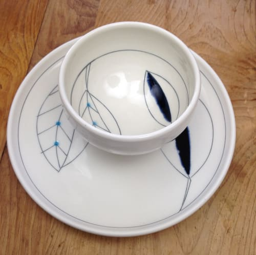 Ceramic Plates by Amy Halko Ceramics at Private Residence, Santa Rosa - Dinnerware.